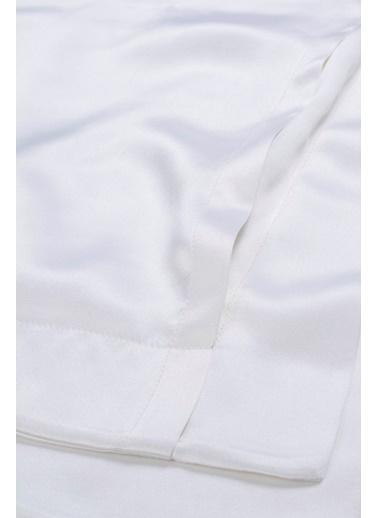 Silk and Cashmere Yastık Kılıfı Beyaz